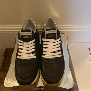 Philippe Model Paris Black/Gold Sneaker 37